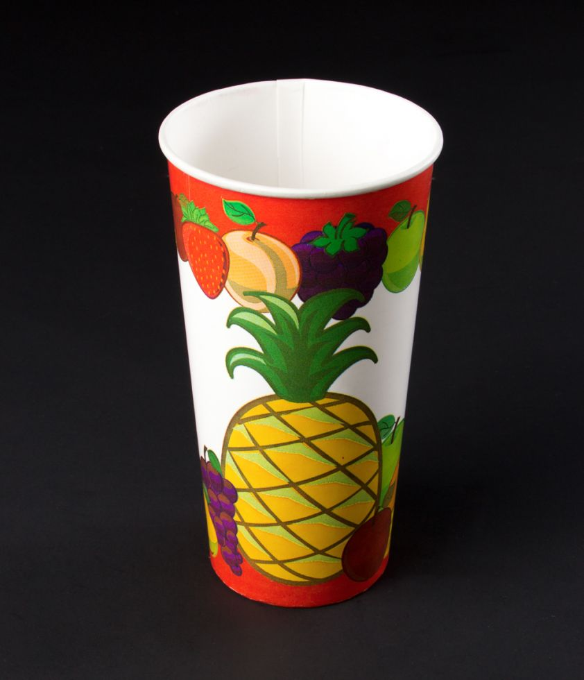 Vaso 22oz tropical Polipapel