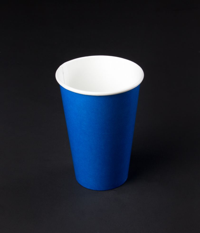 Vaso 12oz Colors Polipapel Azul