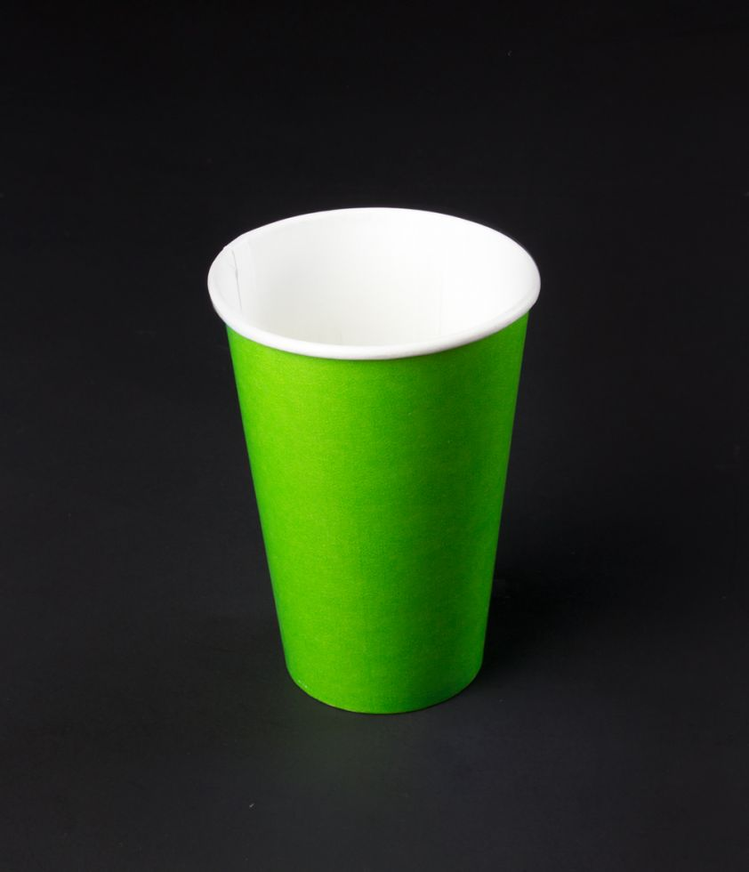 Vaso 12oz Colors Polipapel Verde
