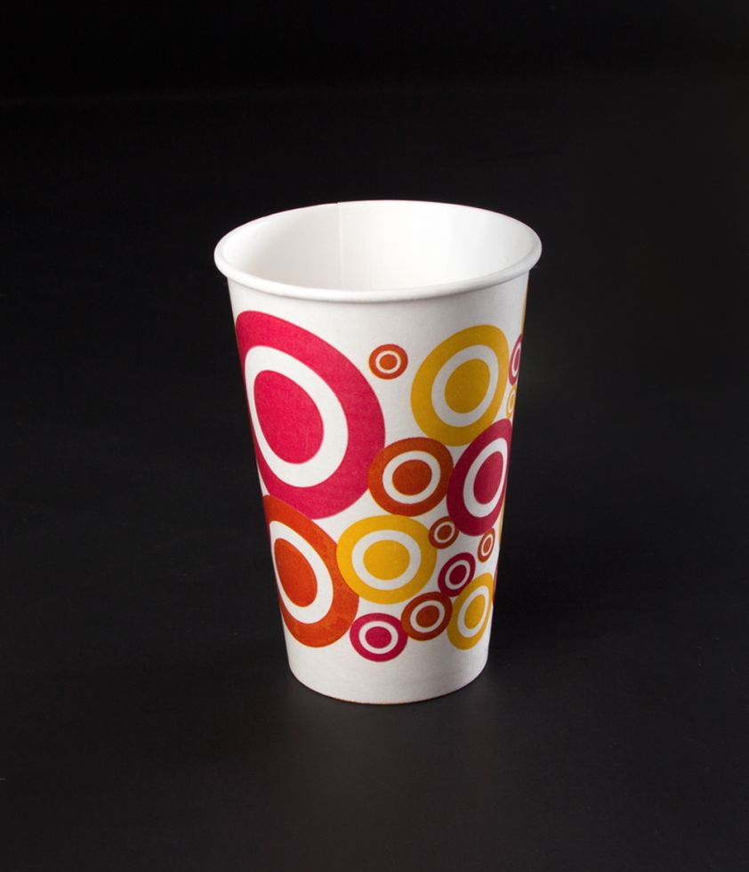 Vaso 12oz Dots Polipapel