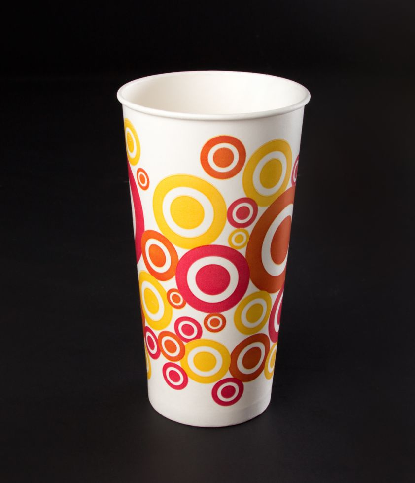 Vaso 22oz Dots Polipapel
