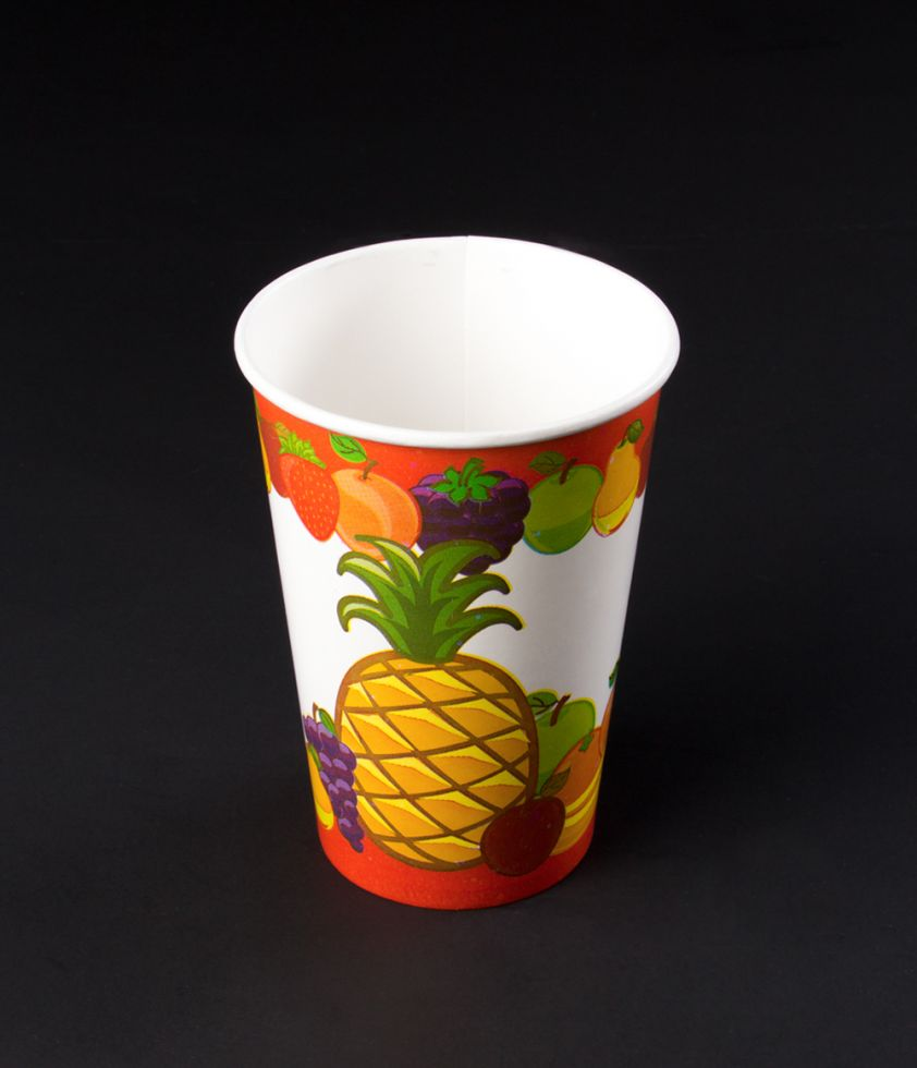 Vaso Tropical 16oz Polipapel